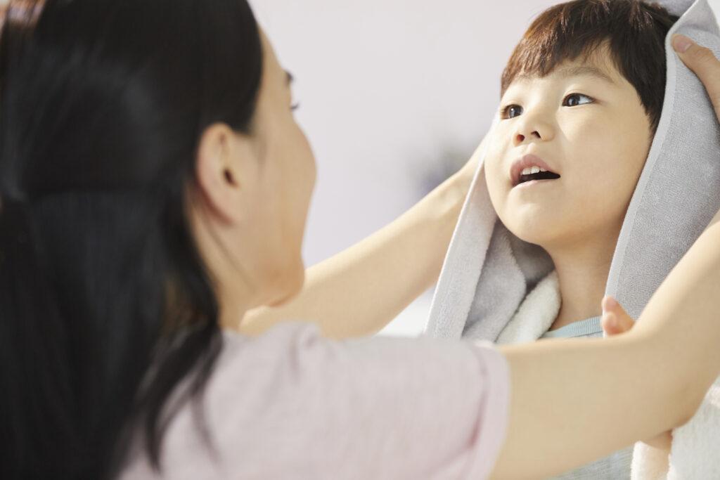 お風呂の時間は子供とのコミュニケーションに欠かせません。