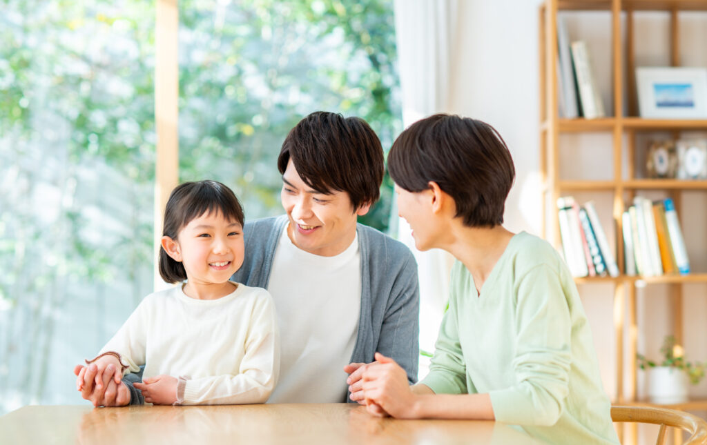 コロナ禍だからこそ、家族でちゃんと話し合って生活面でお互いに協力する体制を作りました。